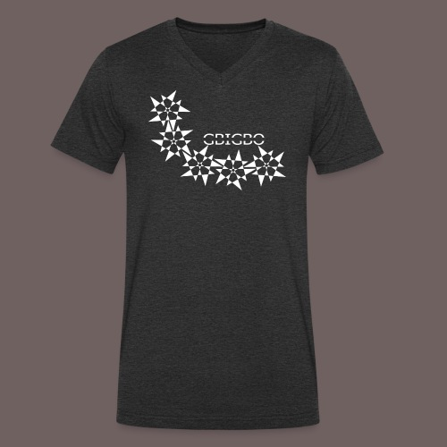 GBIGBO zjebeezjeboo - Rock - Pointy Stars - T-shirt bio col V Stanley & Stella Homme
