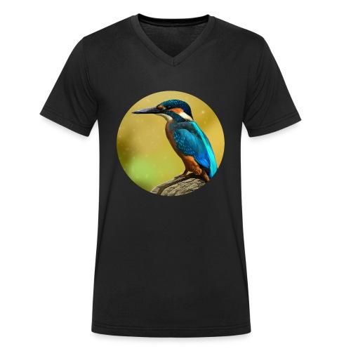 Colors of the wind - Økologisk Stanley & Stella T-shirt med V-udskæring til herrer