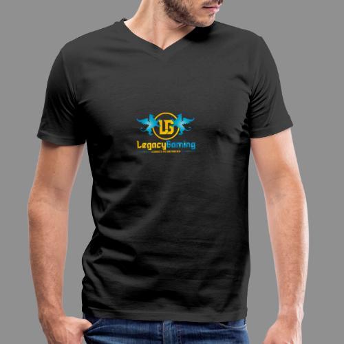 1 Logo - Men's Organic V-Neck T-Shirt by Stanley & Stella