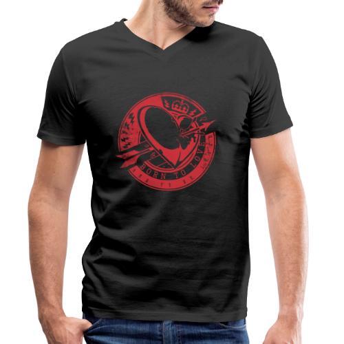Born to love - Männer Bio-T-Shirt mit V-Ausschnitt von Stanley & Stella