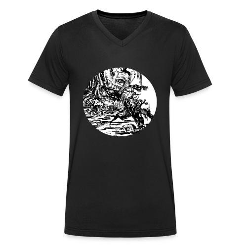 Motiv3 - Männer Bio-T-Shirt mit V-Ausschnitt von Stanley & Stella
