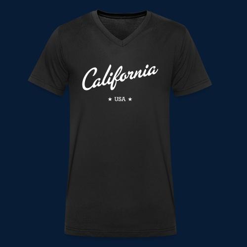 California - Männer Bio-T-Shirt mit V-Ausschnitt von Stanley & Stella