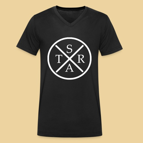 STAR - Männer Bio-T-Shirt mit V-Ausschnitt von Stanley & Stella