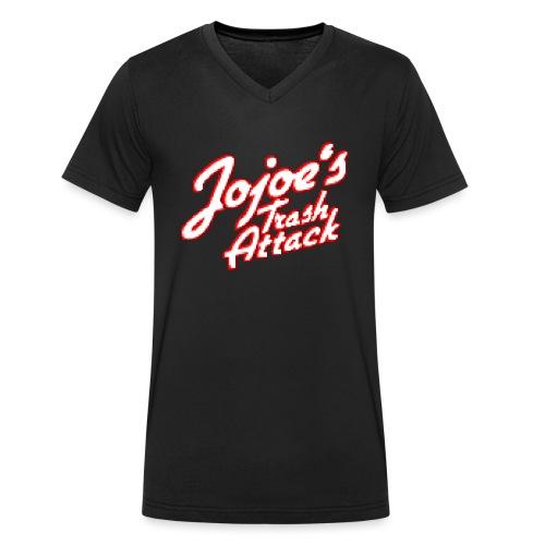 JojoesTrashAttack - Männer Bio-T-Shirt mit V-Ausschnitt von Stanley & Stella