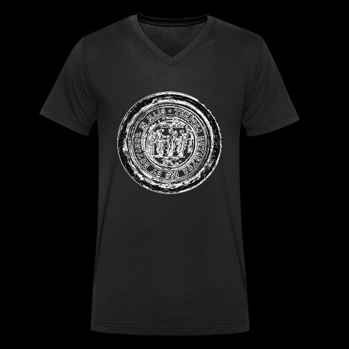Tempora mutantur nos et mutamur in illis (black - Männer Bio-T-Shirt mit V-Ausschnitt von Stanley & Stella