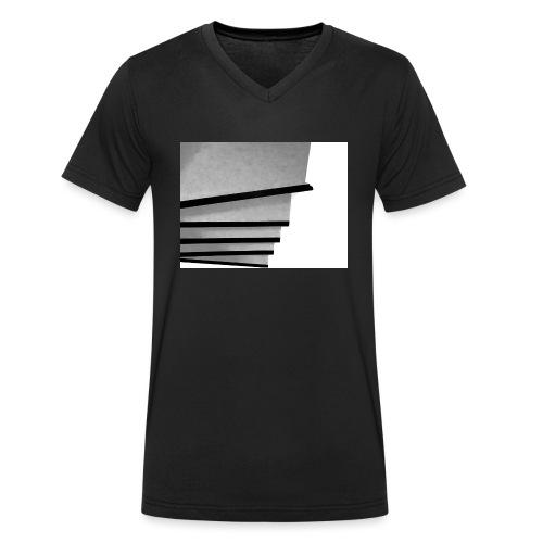 step by step - Männer Bio-T-Shirt mit V-Ausschnitt von Stanley & Stella