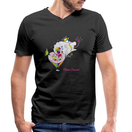 Mimi Corasol - T-shirt bio col V Stanley & Stella Homme