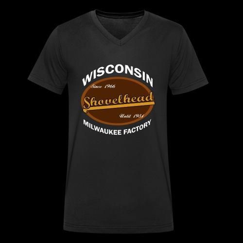 Milwaukee Shovelhead - Männer Bio-T-Shirt mit V-Ausschnitt von Stanley & Stella
