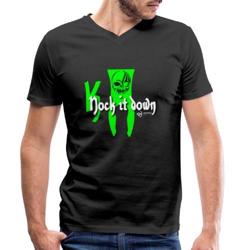 Nock it down - Männer Bio-T-Shirt mit V-Ausschnitt von Stanley & Stella