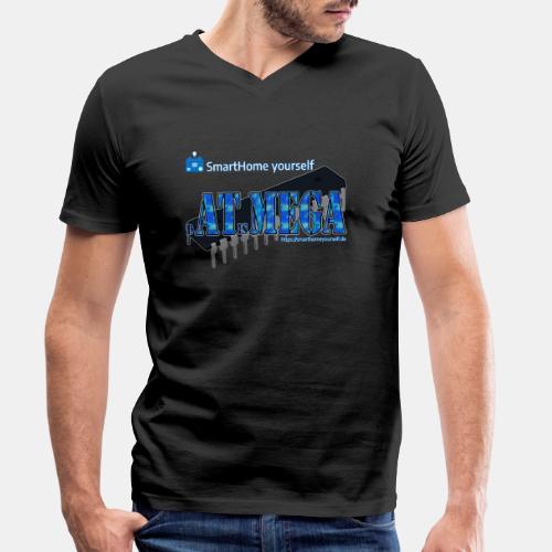 dATisMEGA - Männer Bio-T-Shirt mit V-Ausschnitt von Stanley & Stella