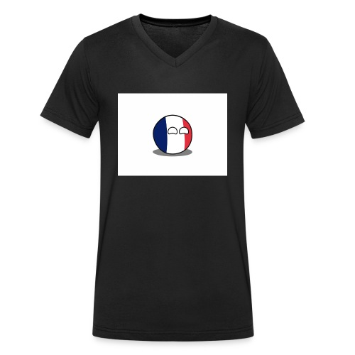 France Simple - T-shirt bio col V Stanley & Stella Homme
