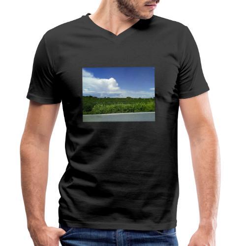 prato verde - T-shirt ecologica da uomo con scollo a V di Stanley & Stella