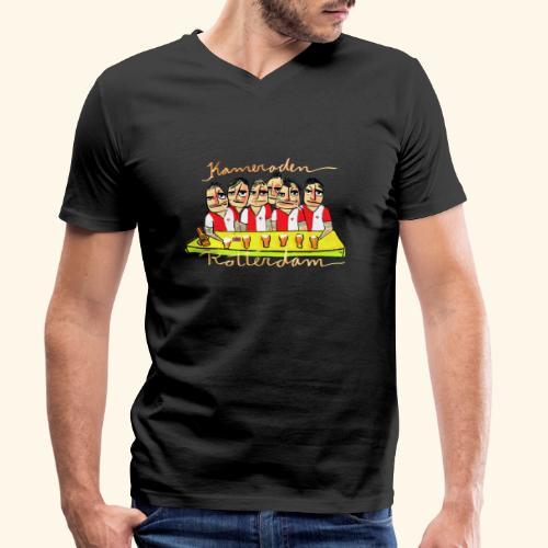 Kameraden Feyenoord - Mannen bio T-shirt met V-hals van Stanley & Stella