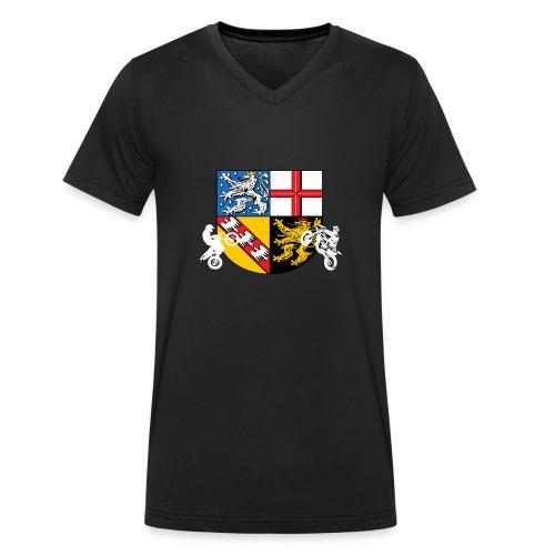 SaarRiderCrew FAN Hoodie - Männer Bio-T-Shirt mit V-Ausschnitt von Stanley & Stella