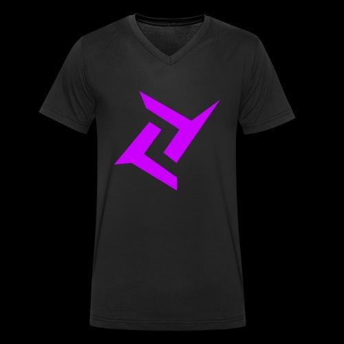 New logo png - Mannen bio T-shirt met V-hals van Stanley & Stella