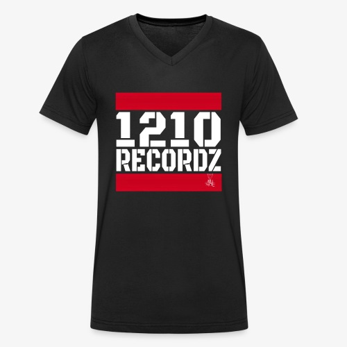 1210 Recordz Tank Top W - Männer Bio-T-Shirt mit V-Ausschnitt von Stanley & Stella