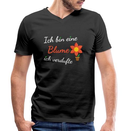 Blume Garten Gärtner Florist Shirt Geschenk - Männer Bio-T-Shirt mit V-Ausschnitt von Stanley & Stella