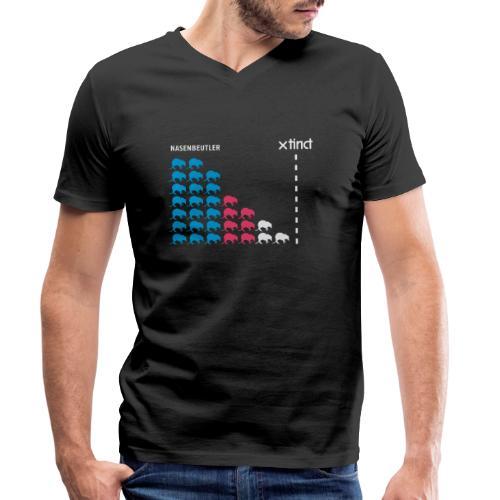 Nasenbeutler - Männer Bio-T-Shirt mit V-Ausschnitt von Stanley & Stella