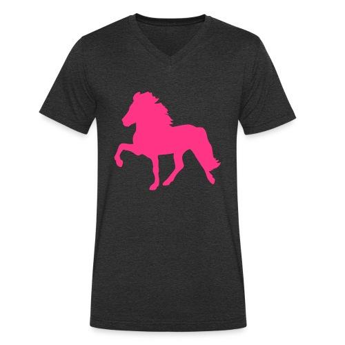 Tölter - Männer Bio-T-Shirt mit V-Ausschnitt von Stanley & Stella