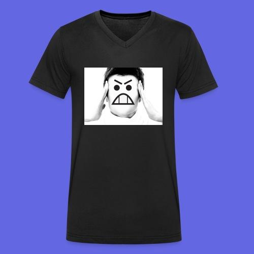 woman-1253505_1920.jpg - Männer Bio-T-Shirt mit V-Ausschnitt von Stanley & Stella