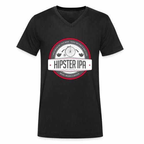 Hipster IPA - Men's Organic V-Neck T-Shirt by Stanley & Stella