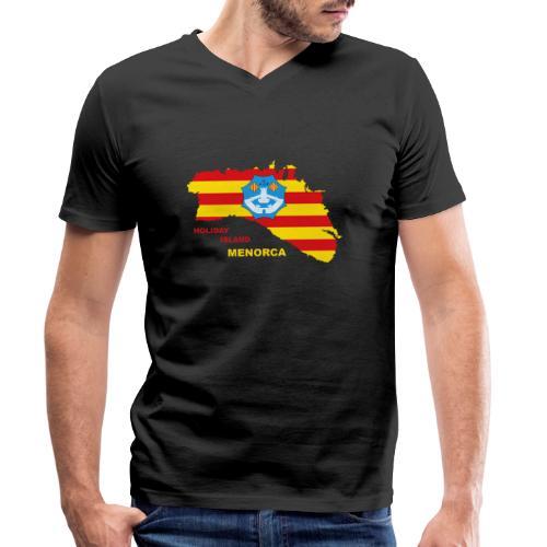 Menorca Urlaub Insel Spanien Balearen - Männer Bio-T-Shirt mit V-Ausschnitt von Stanley & Stella