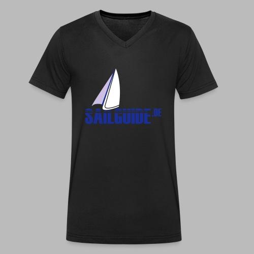 Sailguide - Männer Bio-T-Shirt mit V-Ausschnitt von Stanley & Stella