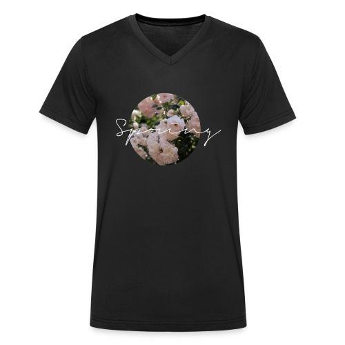 Spring Tasse - Männer Bio-T-Shirt mit V-Ausschnitt von Stanley & Stella