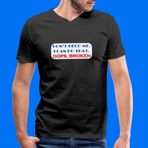 I CAN DO THAT - Männer Bio-T-Shirt mit V-Ausschnitt von Stanley & Stella
