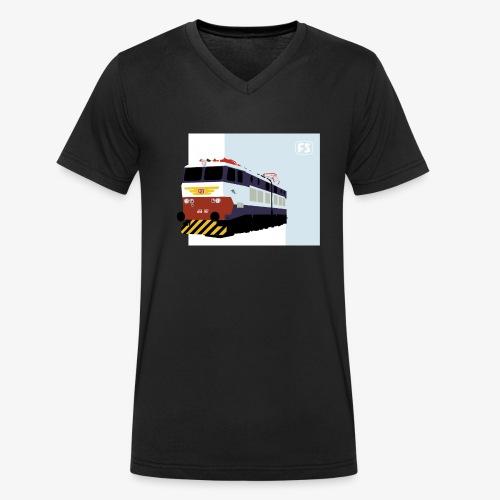 FS E 656 Caimano - T-shirt ecologica da uomo con scollo a V di Stanley & Stella