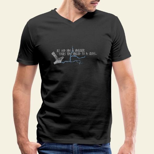mjlner - Økologisk Stanley & Stella T-shirt med V-udskæring til herrer