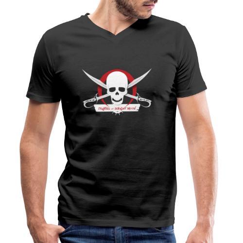 Pirates of Scarlet Moon - T-shirt ecologica da uomo con scollo a V di Stanley & Stella