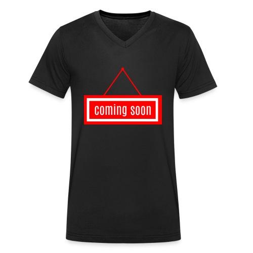 Coming soon - Männer Bio-T-Shirt mit V-Ausschnitt von Stanley & Stella