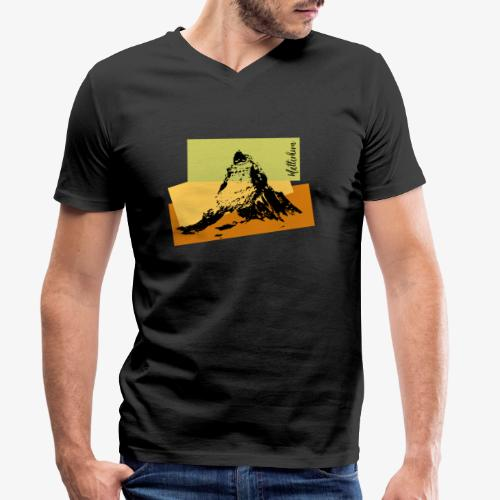 Matterhorn - Men's Organic V-Neck T-Shirt by Stanley & Stella