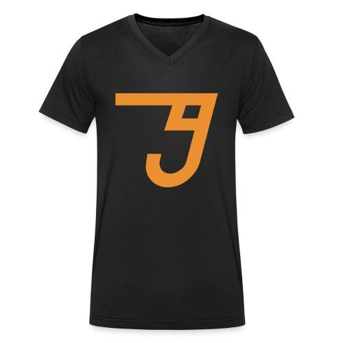 jamie fx logo only - Men's Organic V-Neck T-Shirt by Stanley & Stella
