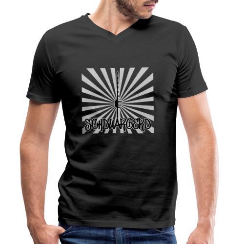 Stuttgart Fernsehturm - Männer Bio-T-Shirt mit V-Ausschnitt von Stanley & Stella