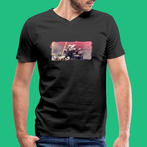 tireur couche - T-shirt bio col V Stanley & Stella Homme