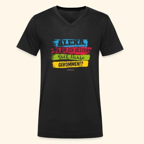 Alexa, Heimweg - Männer Bio-T-Shirt mit V-Ausschnitt von Stanley & Stella