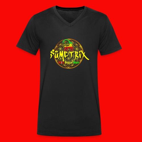 SÜEMTRIX-FANSHOP - Männer Bio-T-Shirt mit V-Ausschnitt von Stanley & Stella