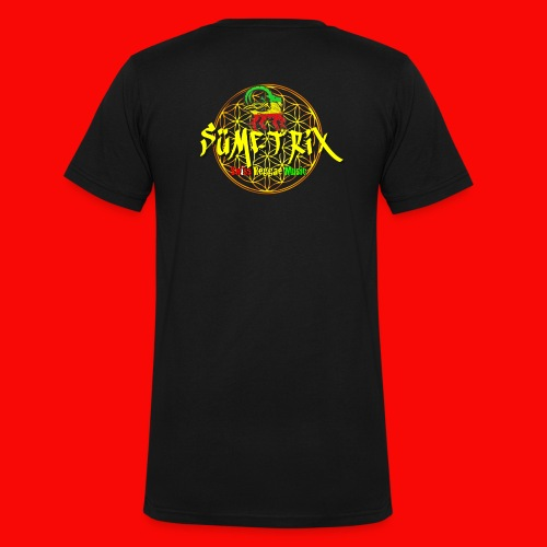 SÜMETRIX FANSHOP - Männer Bio-T-Shirt mit V-Ausschnitt von Stanley & Stella