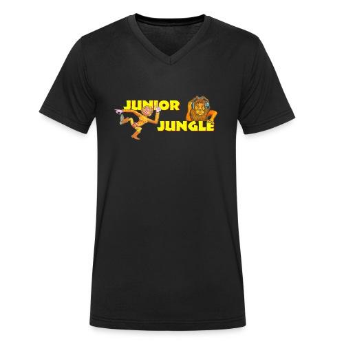 T-charax-logo - Men's Organic V-Neck T-Shirt by Stanley & Stella