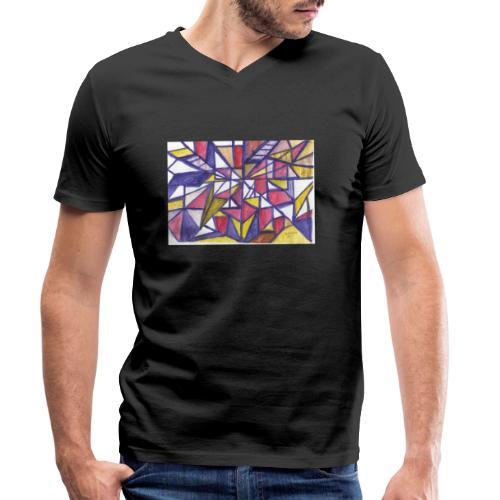 Flickenteppich - Männer Bio-T-Shirt mit V-Ausschnitt von Stanley & Stella