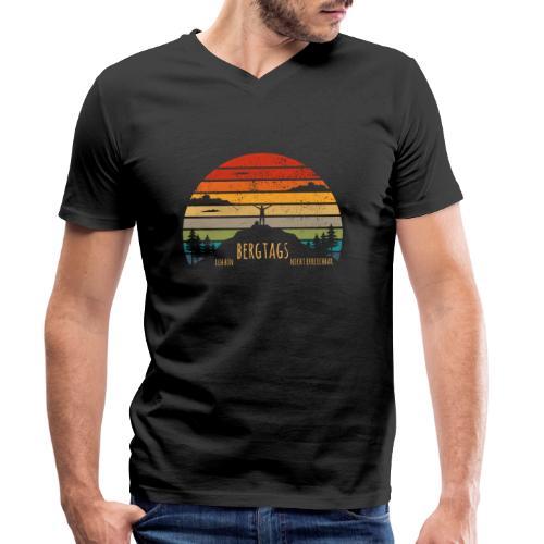 lustige Wanderer Sprüche Shirt Geschenk Retro - Männer Bio-T-Shirt mit V-Ausschnitt von Stanley & Stella