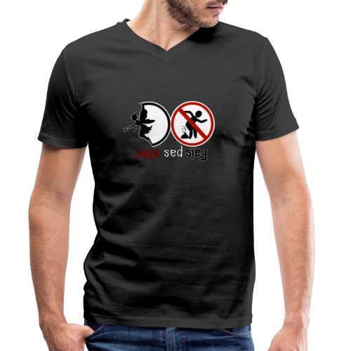 Fais pas chier - Fée pas chier - T-shirt bio col V Stanley & Stella Homme