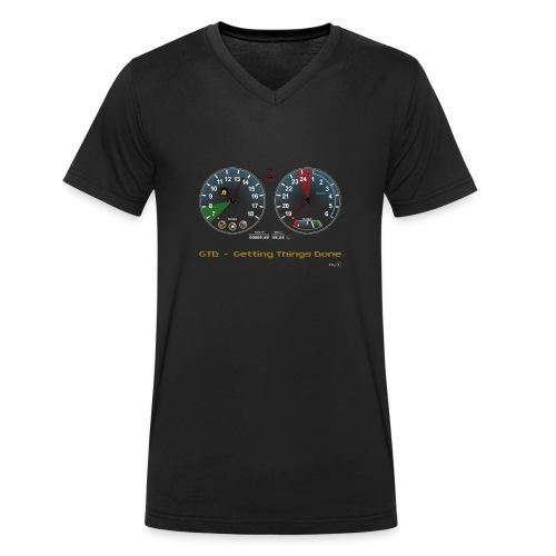 Startup Gear - Männer Bio-T-Shirt mit V-Ausschnitt von Stanley & Stella