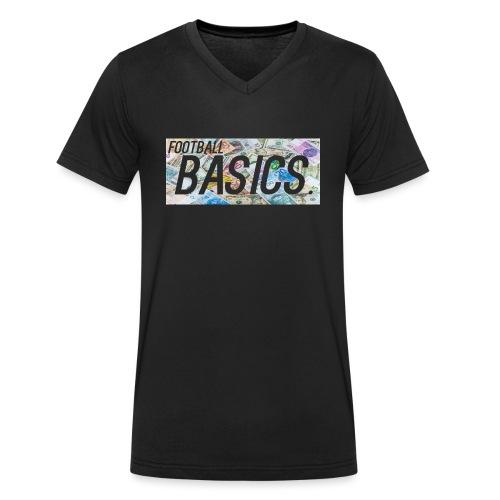 money shot - Men's Organic V-Neck T-Shirt by Stanley & Stella
