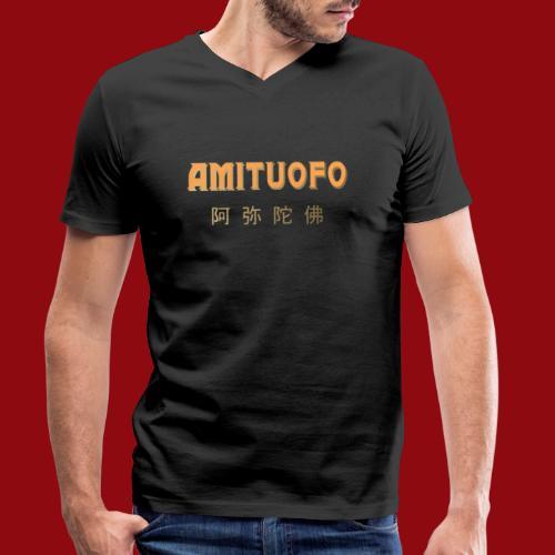 Amitoufo - Buddha - Zen - Shaolin - Buddhismus - Männer Bio-T-Shirt mit V-Ausschnitt von Stanley & Stella