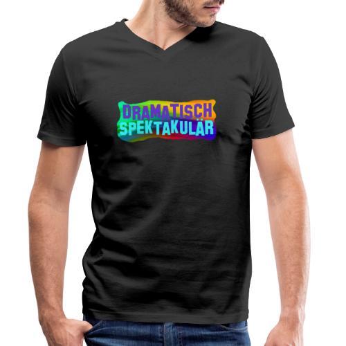 Dramatisch Spektakulär - Männer Bio-T-Shirt mit V-Ausschnitt von Stanley & Stella