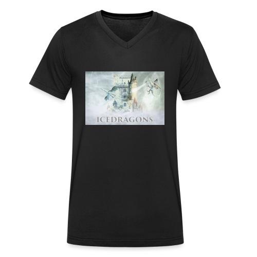 Icedragons - Männer Bio-T-Shirt mit V-Ausschnitt von Stanley & Stella