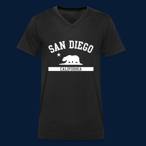San Diego - Männer Bio-T-Shirt mit V-Ausschnitt von Stanley & Stella